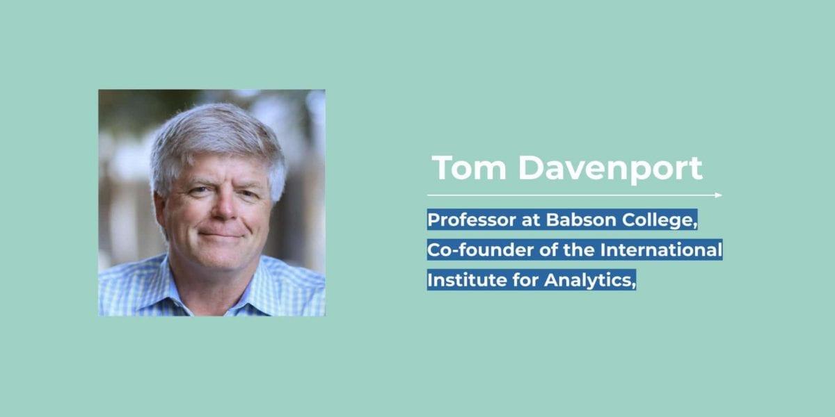 Tom Davenport - ToucanToco
